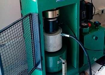 Calibração célula de carga empresa