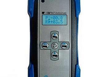 Controle com display inclinômetro