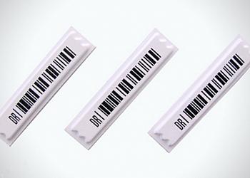 Etiqueta antifurto adesiva