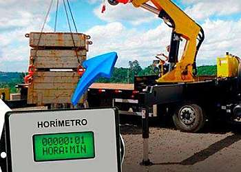 Horímetro digital para máquinas sp