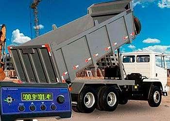 Inclinometro para caminhão basculante