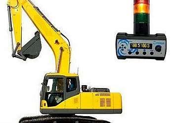Inclinômetro para máquinas de construção